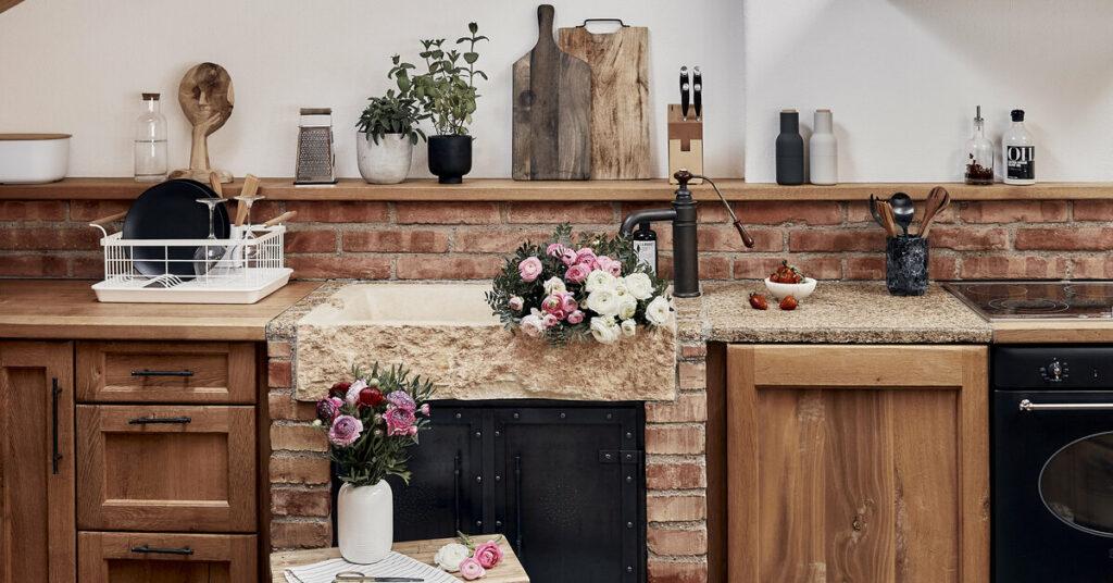 rustikalna kuchyna, doplnky do kuchyne